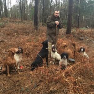 james reavil - gundog training kent